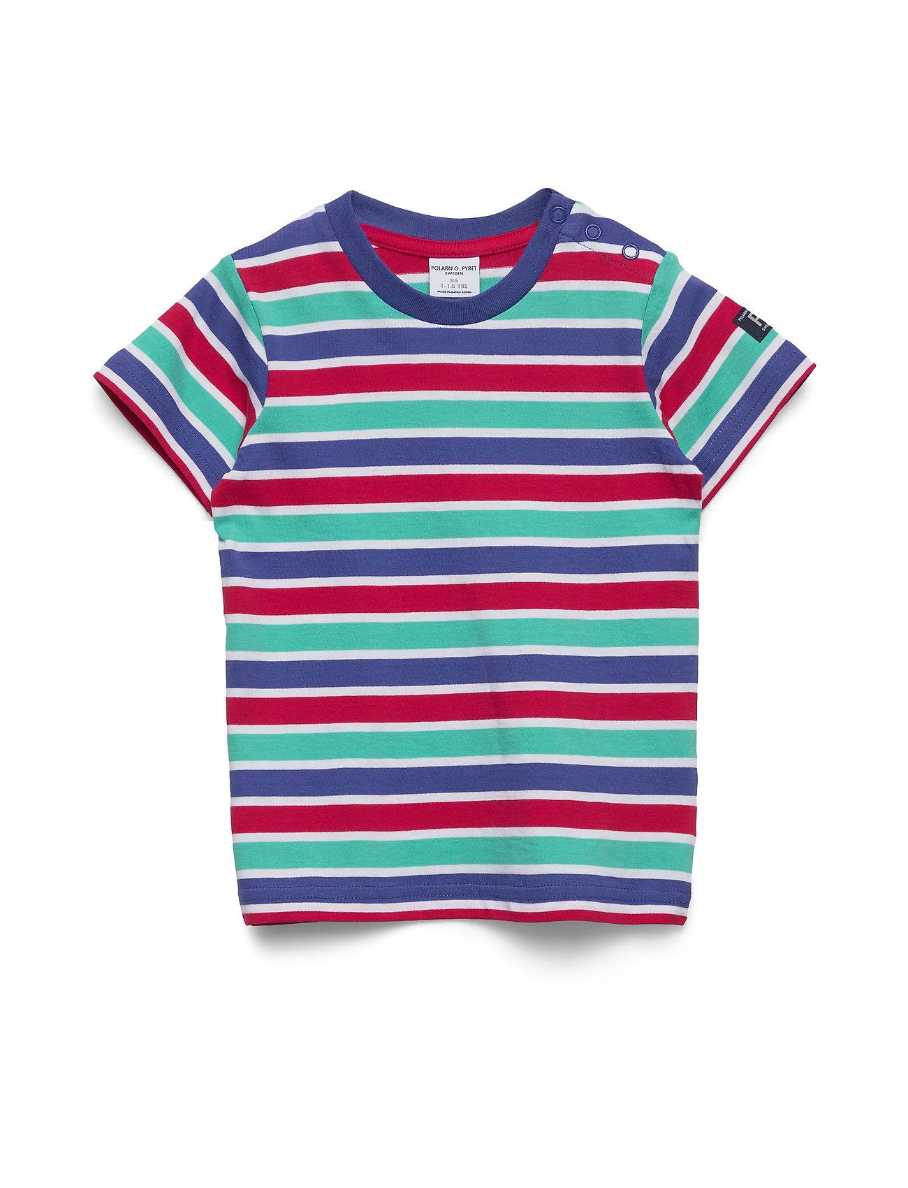Polarn O. Pyret T-shirt S/S striped Pre- School - TIGERLILY