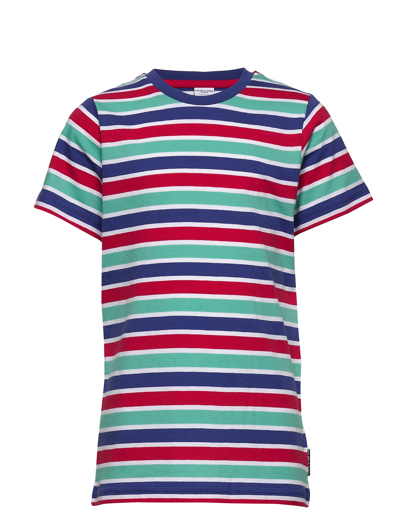 Polarn O. Pyret T-shirt S/S striped School - TIGERLILY