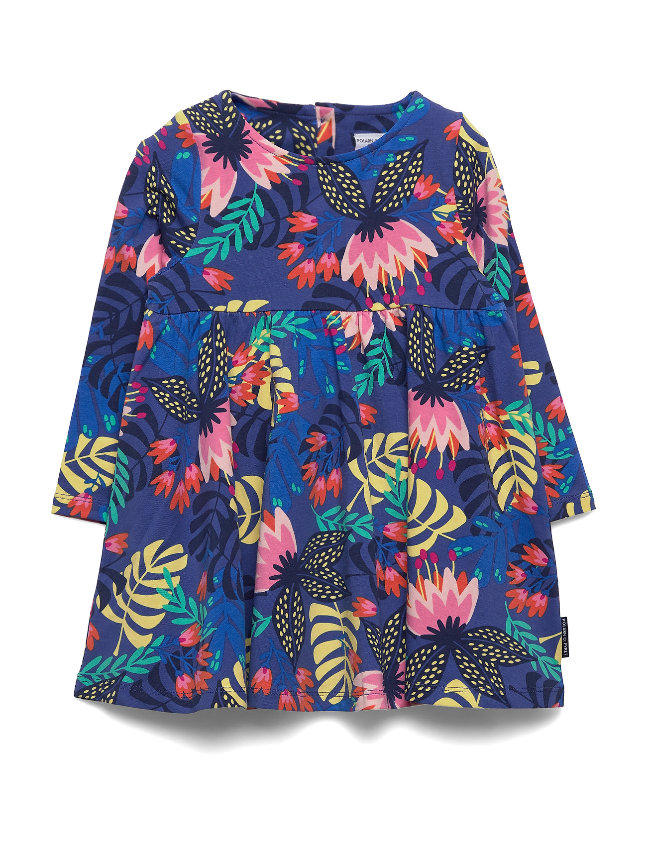 Polarn O. Pyret Dress Jersey AOP Preschool - DEEP ULTRAMARINE