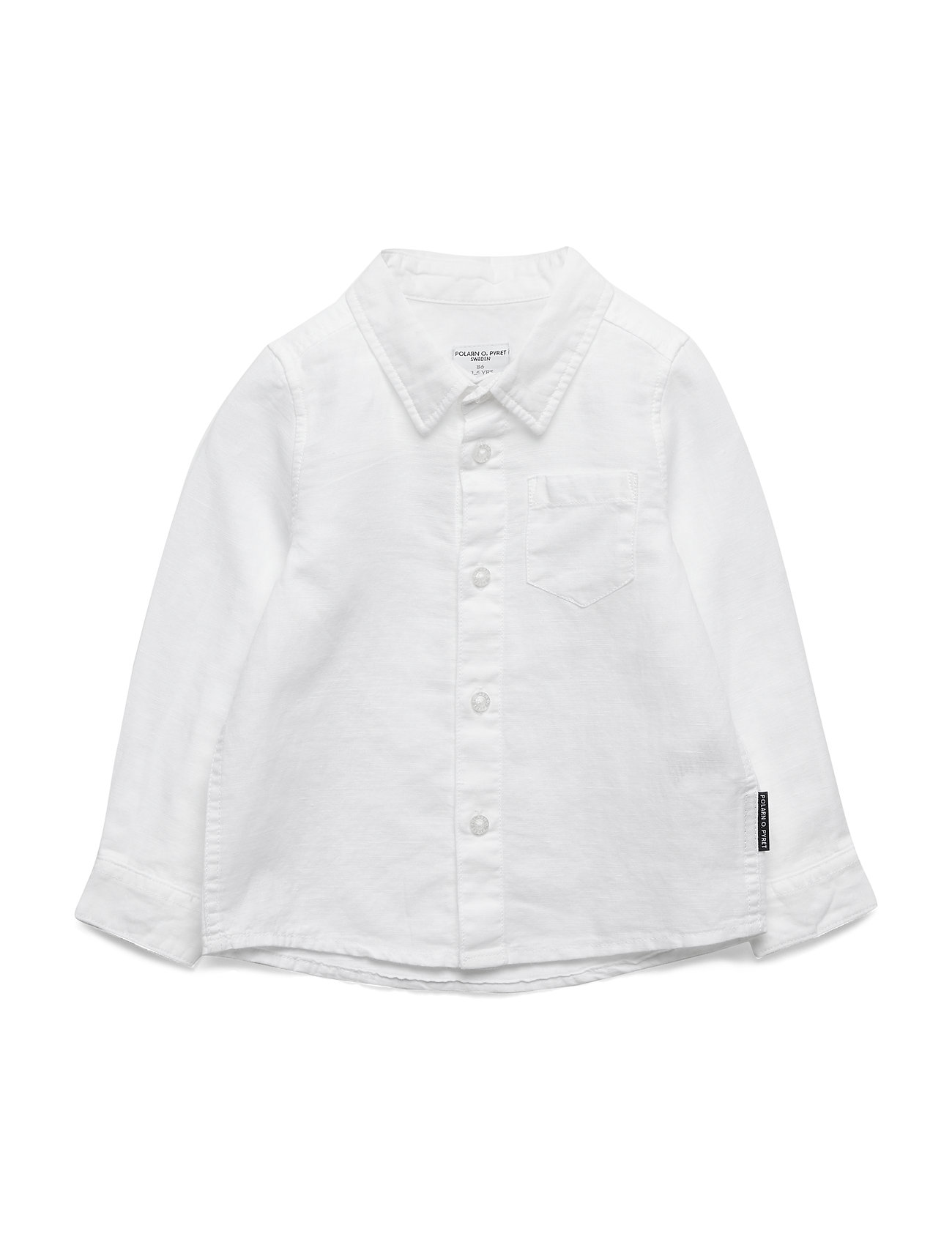 Polarn O. Pyret Shirt l/s  Preschool - SNOW WHITE
