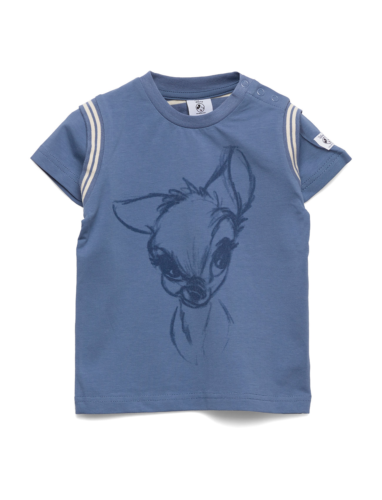 Polarn O. Pyret Disney Collection T-shirt print Pre-School - MOONLIGHT BLUE