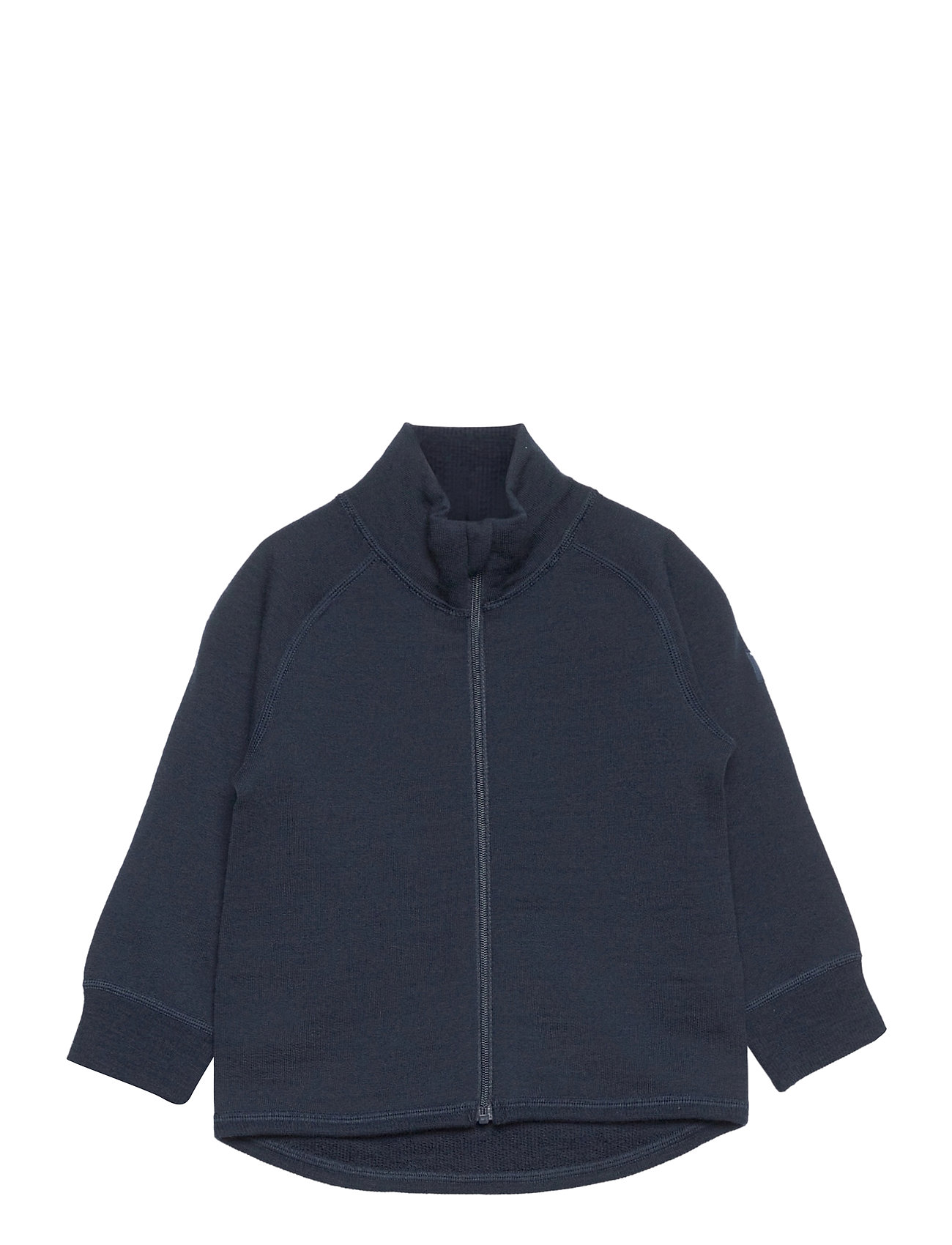Image of Zip Up Woolterry Prechool Outerwear Wool Outerwear Blå Polarn O. Pyret (3461524635)
