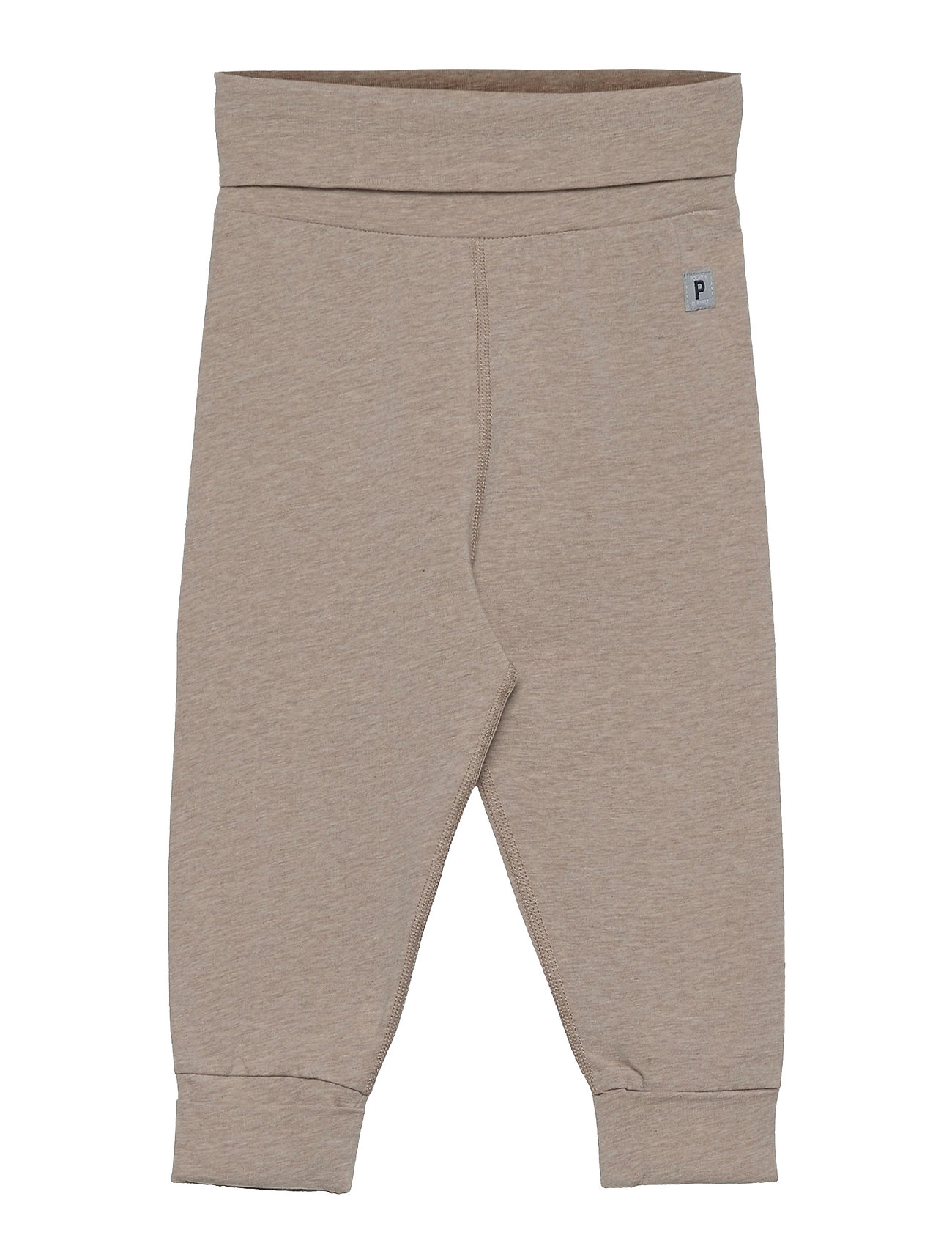 Trousers Jersey Baby Bukser Beige Polarn O. Pyret