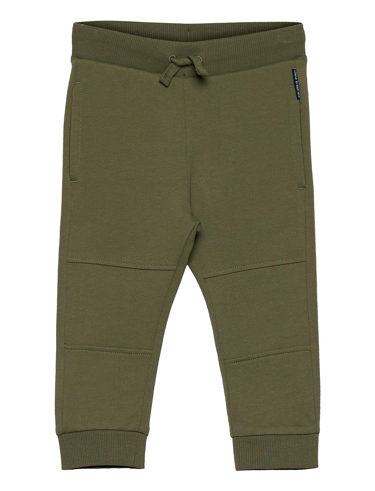 Trousers Jersey Preschool Bukser Grøn Polarn O. Pyret
