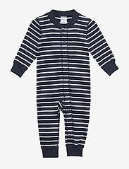 Overall PO.P Stripe Baby - DARK SAPPHIRE