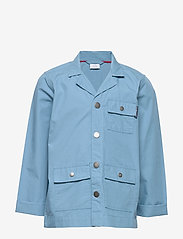 Polarn O. Pyret - ZIp Up jacket School - denimjakker - blue heaven - 0