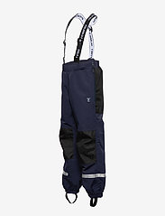 Polarn O. Pyret - Trousers Shell w Suspendor PreScool - hosen - dark sapphire - 2