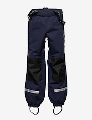 Polarn O. Pyret - Trousers Shell w Suspendor PreScool - hosen - dark sapphire - 3