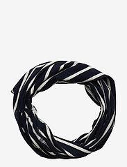 Polarn O. Pyret - Neckwarmer stripe Preschool - vintertøj - dark sapphire - 0