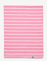 Polarn O. Pyret - Neckwarmer stripe Preschool - vintertøj - sachet pink - 1