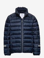 Polarn O. Pyret - Jacket Padded Solid School - dunjakker & forede jakker - dark sapphire - 2