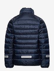 Polarn O. Pyret - Jacket Padded Solid School - dunjakker & forede jakker - dark sapphire - 3