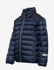 Polarn O. Pyret - Jacket Padded Solid School - dunjakker & forede jakker - dark sapphire - 4