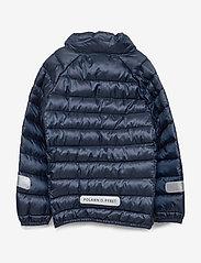 Polarn O. Pyret - Jacket Padded Solid PreSchool - dunjakker & forede jakker - dark sapphire - 1