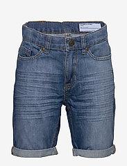 Polarn O. Pyret - Shorts Denim School - shortsit - light denim - 0