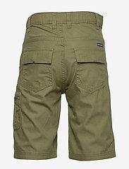 Polarn O. Pyret - Shorts woven solid School - shortsit - olivine - 1