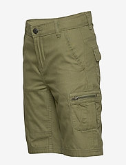 Polarn O. Pyret - Shorts woven solid School - shortsit - olivine - 2