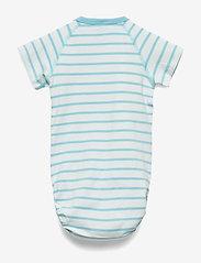 Polarn O. Pyret - Body Wrapover Striped Baby - lyhythihaiset - petit four - 1