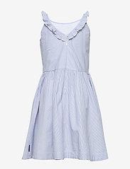 Polarn O. Pyret - Dress Woven w Frill School - mekot - snow white - 1