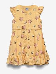 Polarn O. Pyret - Dress Jersey AOP Preschool - mekot - impala - 0
