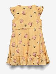 Polarn O. Pyret - Dress Jersey AOP Preschool - mekot - impala - 1