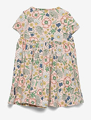 Polarn O. Pyret - Dress Jersey AOP Preschool - mekot - impatiens pink - 1