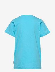 Polarn O. Pyret - T-shirt frontprint s/s School - lyhythihaiset - bachelor button - 1