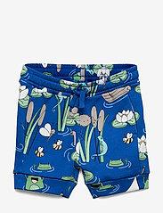 Polarn O. Pyret - Shorts AOP Preschool - shortsit - bachelor button - 0