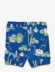 Polarn O. Pyret - Shorts AOP Preschool - shortsit - bachelor button - 1