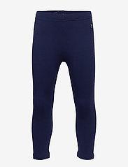 Polarn O. Pyret - Leggings Solid School - leggingsit - medieval blue - 0