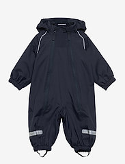 Polarn O. Pyret - Overall Shell Lined Baby - vêtements shell - dark sapphire - 0