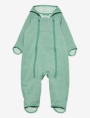 Polarn O. Pyret - Overall Baby - softshells - oil blue - 0