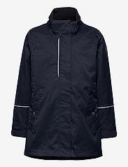 Polarn O. Pyret - Jacket Long School - shell jassen - dark sapphire - 2