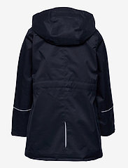 Polarn O. Pyret - Jacket Long School - shell jassen - dark sapphire - 3