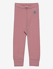Polarn O. Pyret - Long Johns Wool Solid Baby - onderkleren - bridal rose - 0