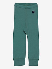 Polarn O. Pyret - Long Johns Wool Solid Baby - bovenkleding - oil blue - 0
