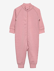 Polarn O. Pyret - Overall Solid Wool Baby - wol - bridal rose - 0
