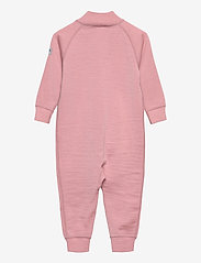 Polarn O. Pyret - Overall Solid Wool Baby - wol - bridal rose - 1