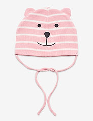Polarn O. Pyret - Cap Knitted Solid Baby - babyhuer - bridal rose - 0