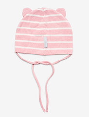Polarn O. Pyret - Cap Knitted Solid Baby - babyhuer - bridal rose - 1