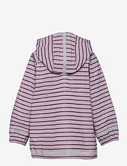 Polarn O. Pyret - Rain Jacket Stripe Preschool - overall - dawn pink - 1