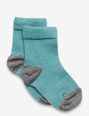 Polarn O. Pyret - Socks Wool Solid Preschool - sokken - teal - 0