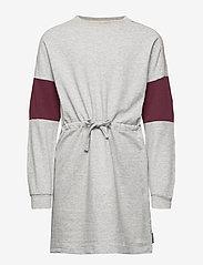 Polarn O. Pyret - Dress Jersey School - robes - greymelange - 0