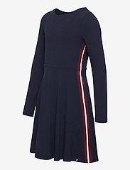 Polarn O. Pyret - Dress l/s Jersey School - robes - dark sapphire - 2