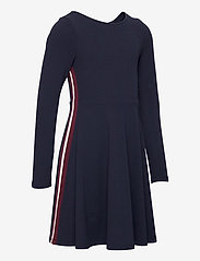 Polarn O. Pyret - Dress l/s Jersey School - robes - dark sapphire - 3