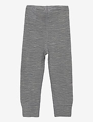 Polarn O. Pyret - Long Johns Wool Solid Baby - basislag - greymelange - 1