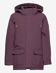 Polarn O. Pyret - Jacket Padded w Hood School - parkas - moon - 1