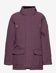 Polarn O. Pyret - Jacket Padded w Hood School - parkas - moon - 2