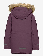 Polarn O. Pyret - Jacket Padded w Hood School - parkas - moon - 3