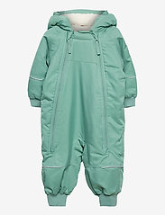 Polarn O. Pyret - Overall Shell Lined Baby - shell clothing - oil blue - 0